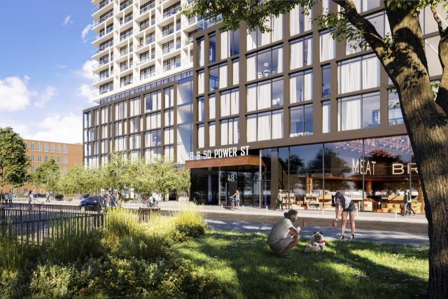 Power and Adelaide, Toronto, by Great Gulf, Hullmark, Core Architects