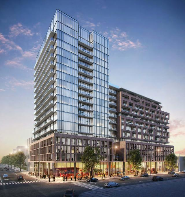 1182 and 1221 King Street West, Toronto, by Lifetime Developments, Core Arch