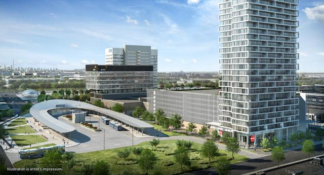 Transit City Condos, Vaughan, by SmartREIT, CentreCourt, Diamond Schmitt