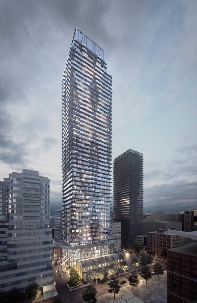 8-20 Widmer, Scott Shields Architects, Claireville Holdings Limited, Toronto