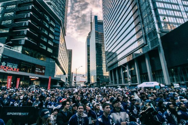 Photo of the Day, Toronto, Maple Leaf Square, ACC, Rogers Centre