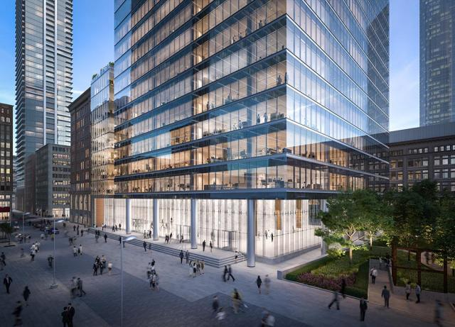 Bay Adelaide Centre North, Toronto, by Brookfield Properties Partners, KPMB