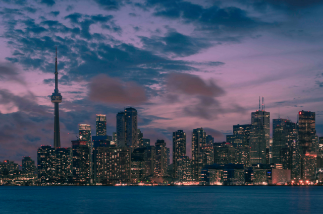 Toronto's changing skyline, image by UT Flickr contributor ashtontekno