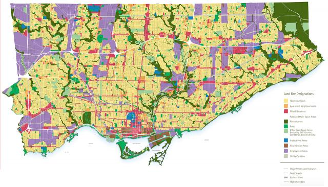Land Use Designations, Official Plan, density, Toronto