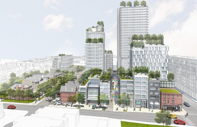 Mirvish Village, Toronto, Westbank Corp, ERA and Henriquez Partners Architects
