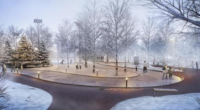 Queensway Park, Urban Capital, Rosewater, RAW Design, Toronto