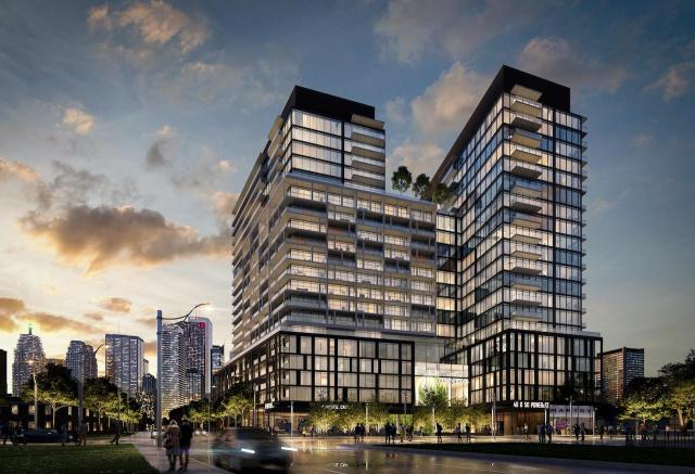 Power and Adelaide, Great Gulf, Hullmark, Core Architects, Toronto