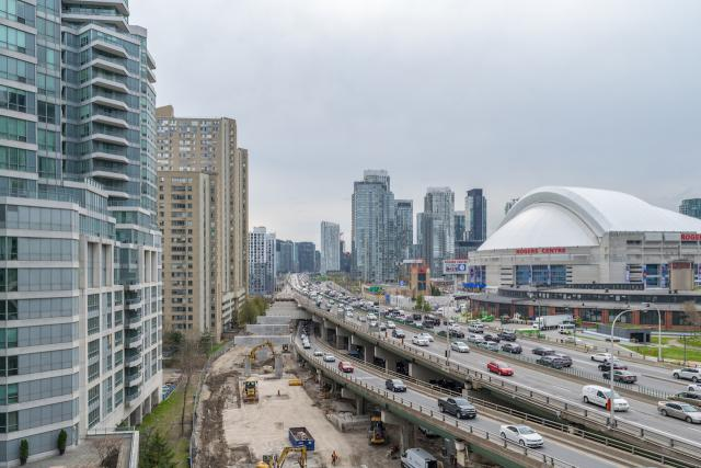 York-Bay-Yonge off-ramp, demolition, Toronto, Gardiner Expressway