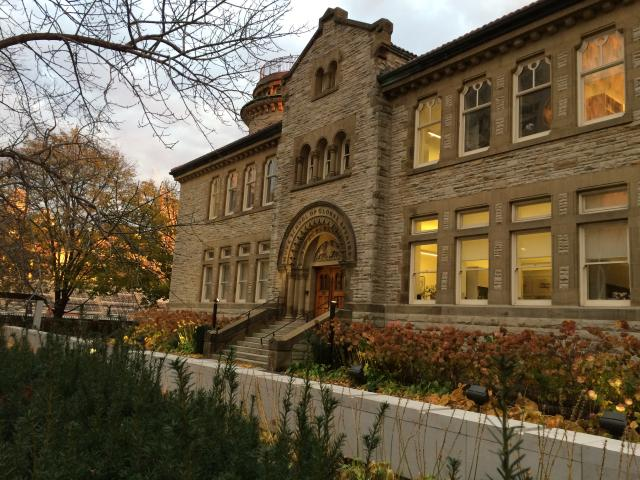 The 'Campus and Cosmos' tour will take in what is now U of T's Munk School, imag