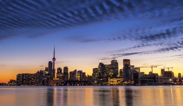 Toronto skyline, image by Simone Gramegna via Flickr