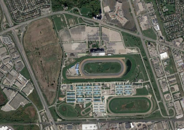 Woodbine Racetrack Development, Toronto, by WEG, LiveWorkPlay, IBI Group
