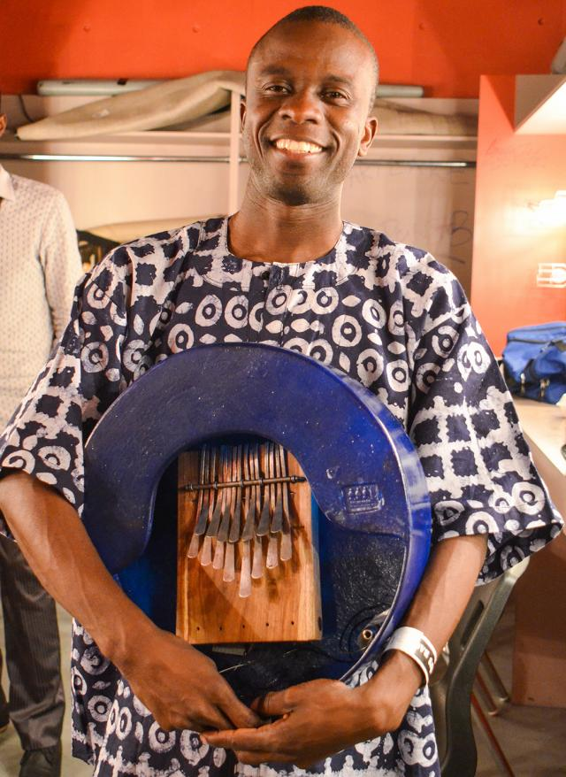 Tich Maredza will be playing traditional Zimbabwean music at the TD Bank Tower
