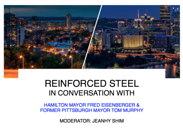 The 'Reinforced Steel' breakfast will be co-hosted with ULI, image via Hamilton
