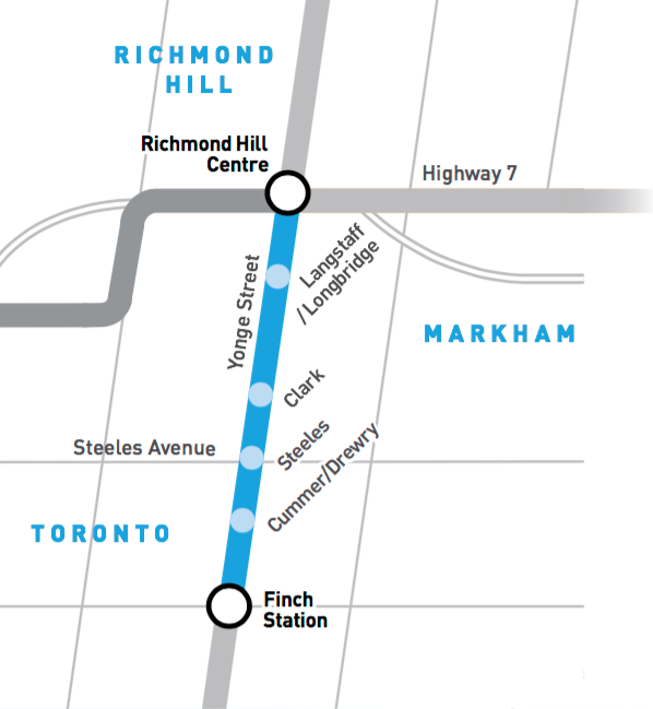 The Yonge Subway Extension