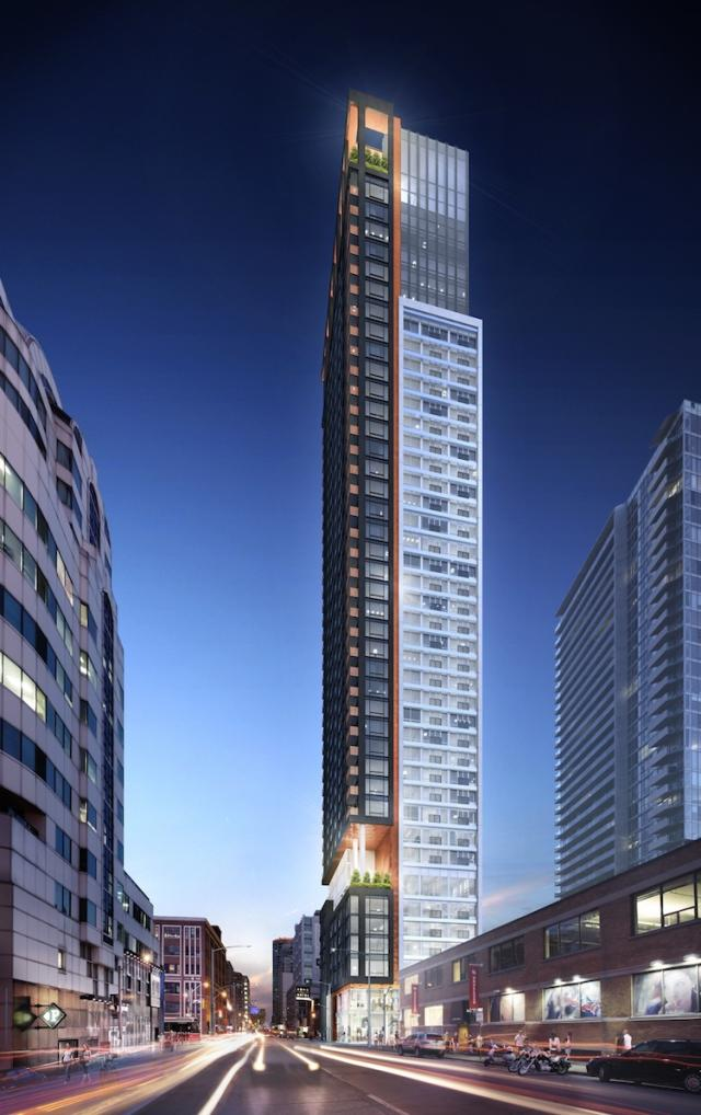 357 King Street West by Quadrangle Architects for Great Gulf, Toronto