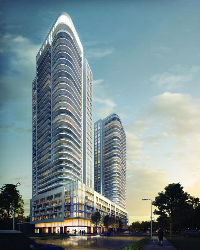 The Kennedys Condominiums & Hotel, P+S/IBI Group, SAMM Developments, Toronto
