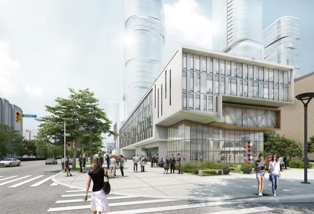 Sheppard Ave at Agincourt Mall Redevelopment, Giannone Petricone, North American