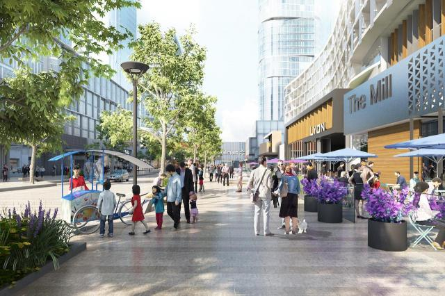 The 'Rambla' at Agincourt Mall Redevelopment, Giannone Petricone, North American