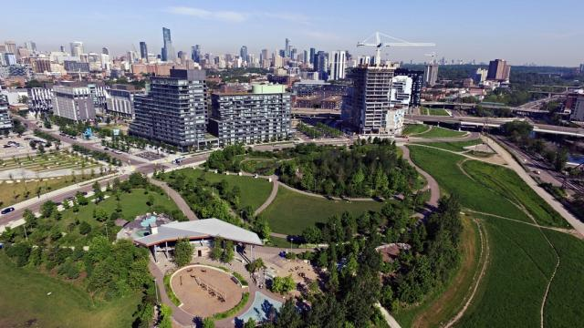 Photo of the Day, Toronto, West Don Lands, River City 3, Corktown Common