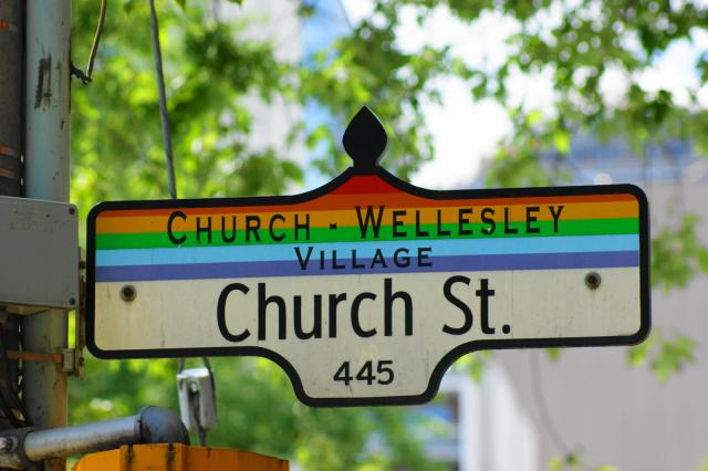 Church Street in the Village, image by UT Flickr contributor Jamie Hedworth