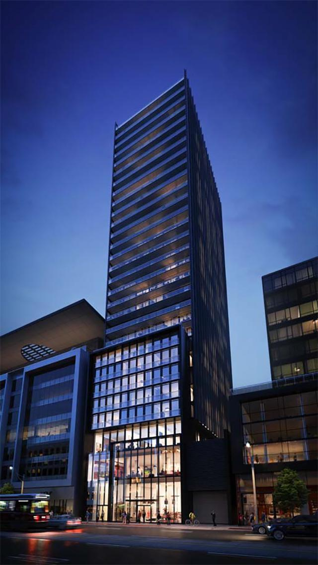 Bauhaus Condos, Toronto, by architectsAlliance for Lamb Development Corp