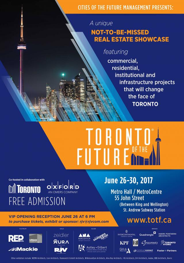 Updated poster, image via Toronto of the Future