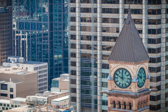 Photo of the Day, Toronto, Old City Hall clock tower