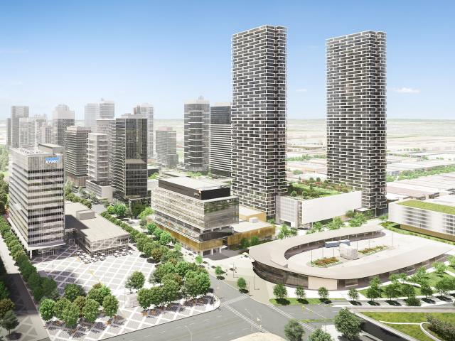 Transit City 1 & 2 at Vaughan Metropolitan Centre, CentreCourt Developments