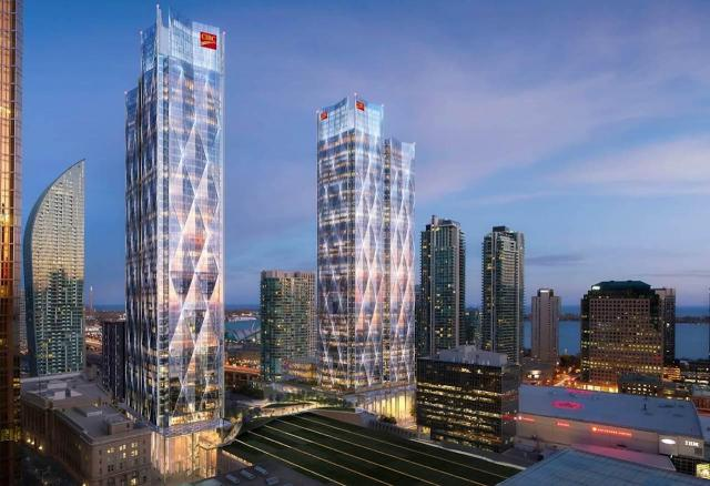 CIBC Square, Toronto, by Ivanhoe Cambridge, Hines, WilkinsonEyre, Adamson