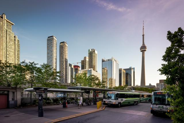Photo of the Day, Toronto, sunset, South Core skyline