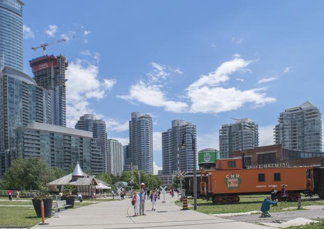 Throwback Thursday, Riviera Condos, Roundhouse Park, Steam Whistle, Toronto