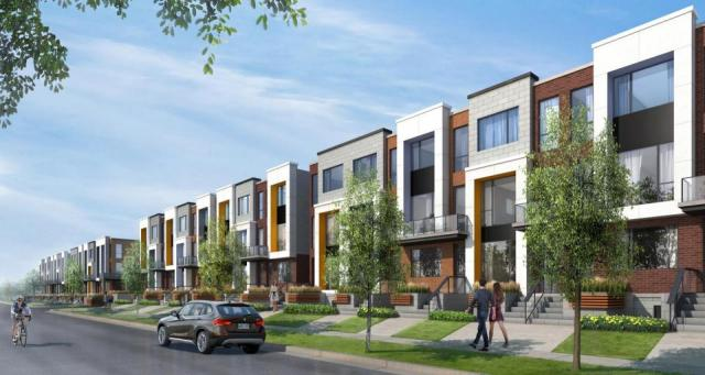 Luxury Townhome Collection, Downsview Park, Toronto, by Stafford Developments