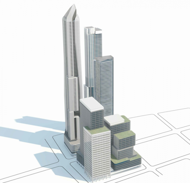 1-7 Yonge, Hariri Pontarini Architects, Pinnacle International, Toronto