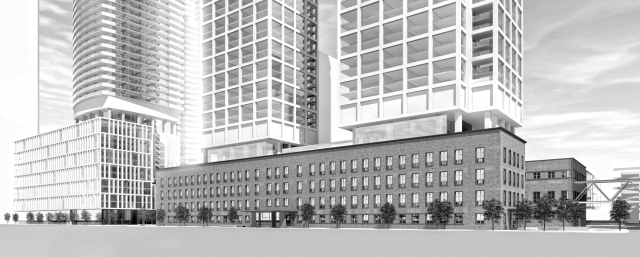 LCBO Lands, Menkes Developments, architectsAlliance, Toronto
