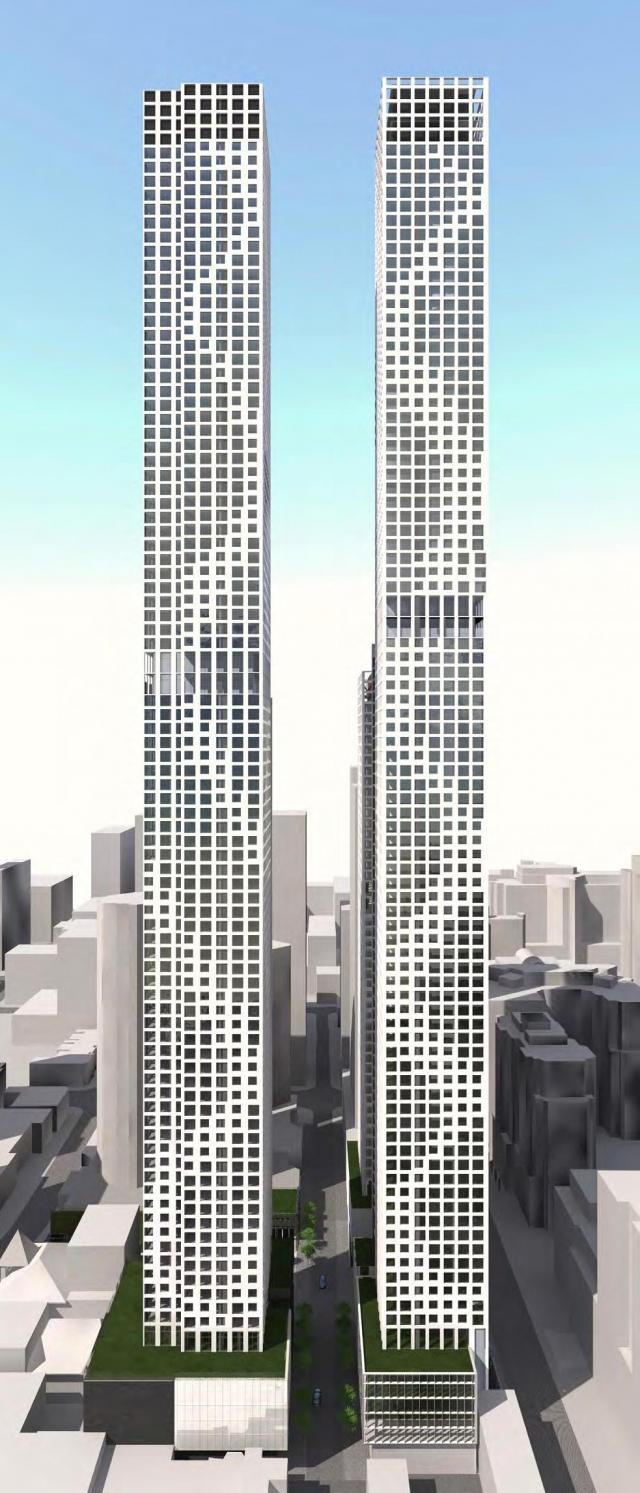 supertall, towers, Toronto, density, height