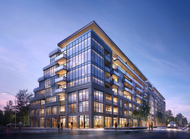 The Addington condos, Toronto, by Kirkor Architects for Park Hiatt Developments