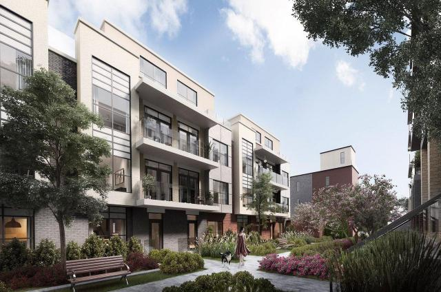 Clanton Park Towns, SRN Architects, Crown Communities, Toronto