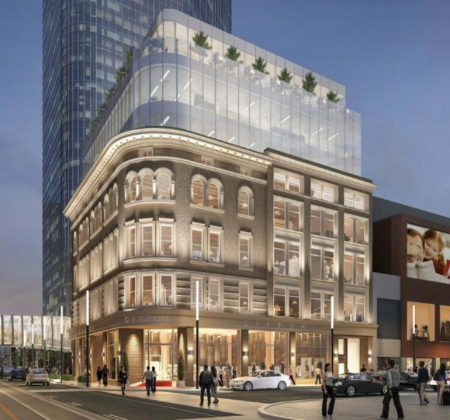 2 Queen West, Toronto, by Cadillac Fairview, Zeidler Partnership, ERA