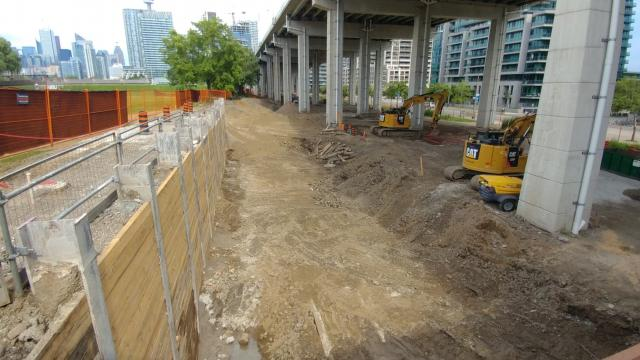 Work underway for future Fort York Visitors Centre, image by UT Member Achender