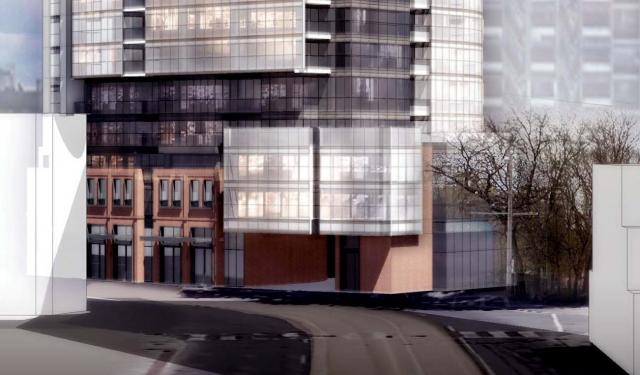219 Dundas Street East, Toronto, Menkes, Turner Fleischer Architects