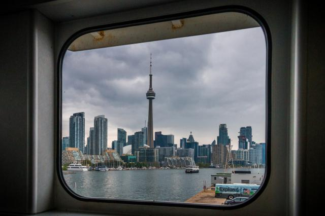 Photo of the Day, Toronto, skyline, Billy Bishop, Island Airport, Ferry