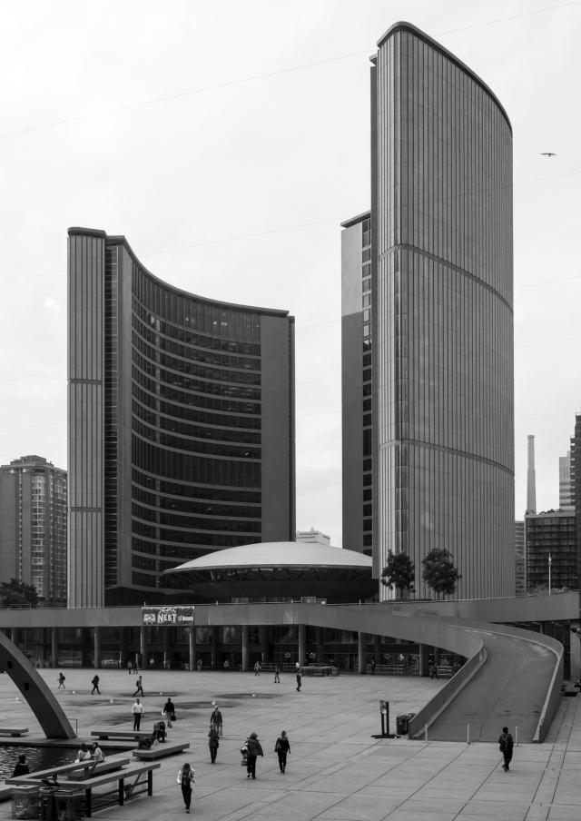 New City Hall, a Toronto icon, image by Vik Pahwa