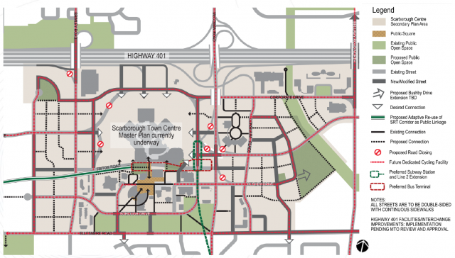 Scarborough Centre Transportation Master Plan, City of Toronto, Toronto