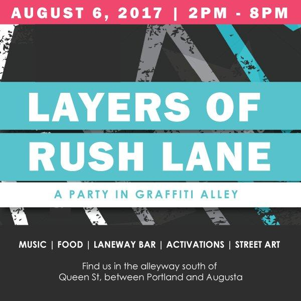 Information on the event, image courtesy of The Laneway Project