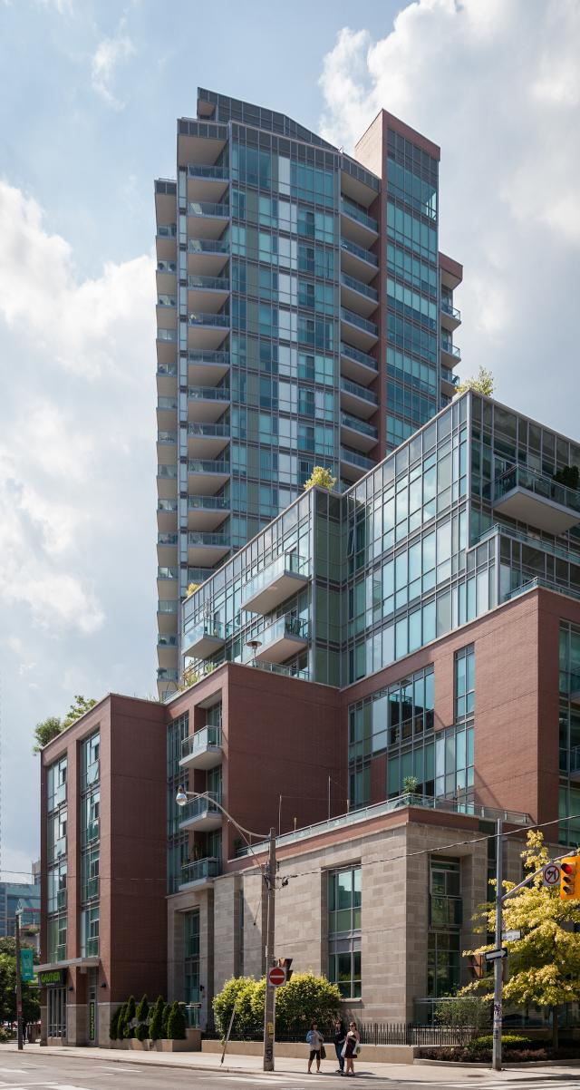 Throwback Thursday, Vü Condos, Adelaide and George, Toronto