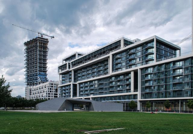 Photo of the Day, Toronto, Monde, Aqualina at Bayside, Sherbourne Common