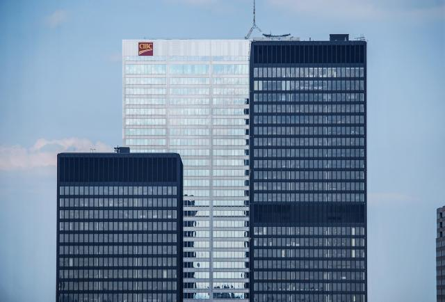 Photo of the Day, Toronto, Financial District, office towers, TD, CIBC