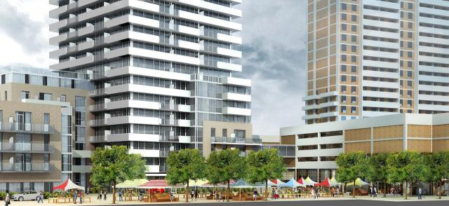 22 John, 33 King, Rockport Group, Graziani+Corazza, Artscape, Toronto