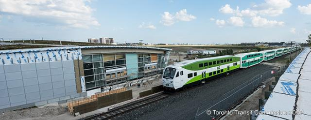 Downsview Park GO Station and TTC station