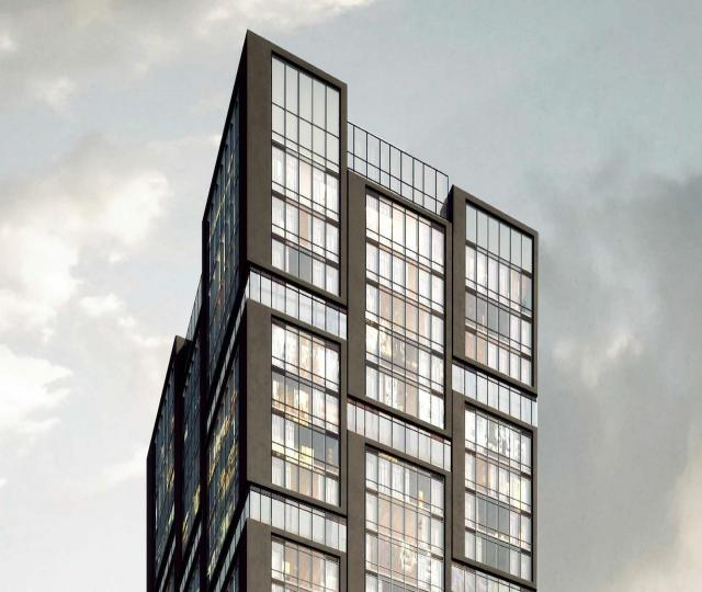 Theory Condos, Toronto, Parallax, Page + Steele / IBI Group Architects